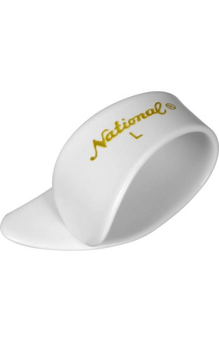 National Large Thumbpick White