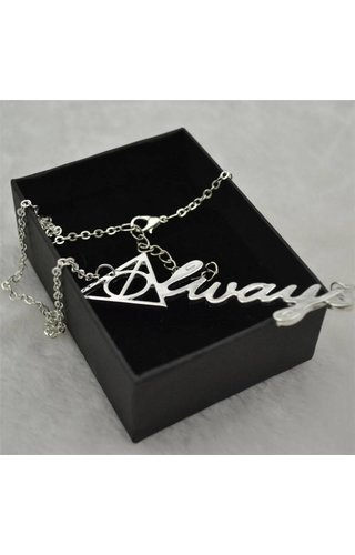 Deathly Hollows Always Chain Necklace