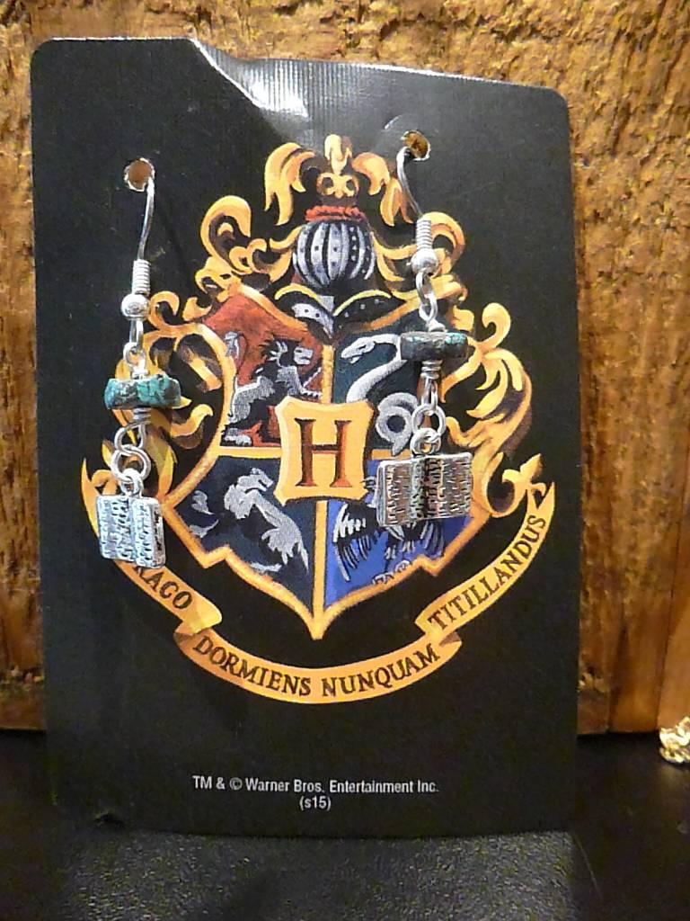 Harry Potter Turquoise Beaded Earrings