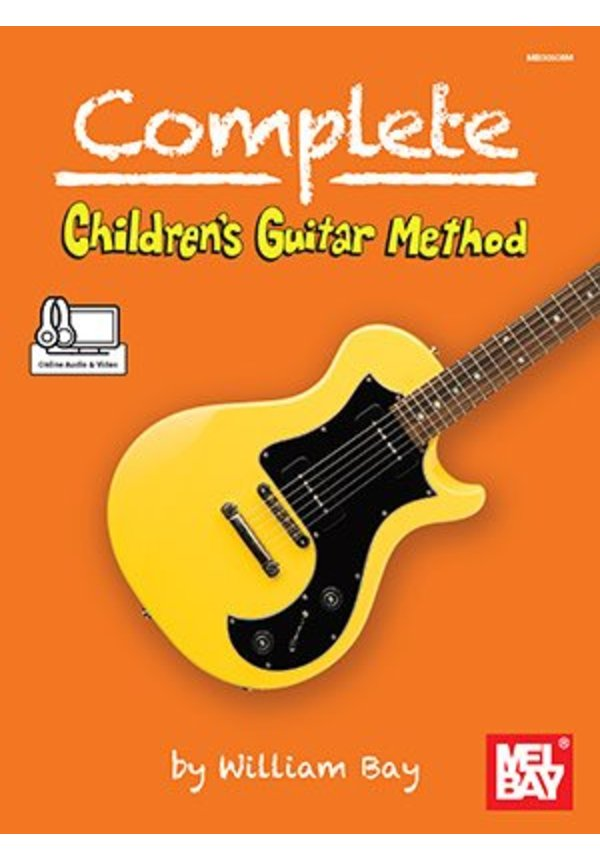 Complete Childrens Guitar Method By William Bay Fretwell Bass