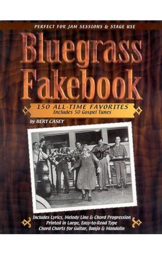 Watch & Learn BLUEGRASS FAKEBOOK