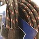 AXL 90 deg Inst Cable, Blk/Red Tweed 10