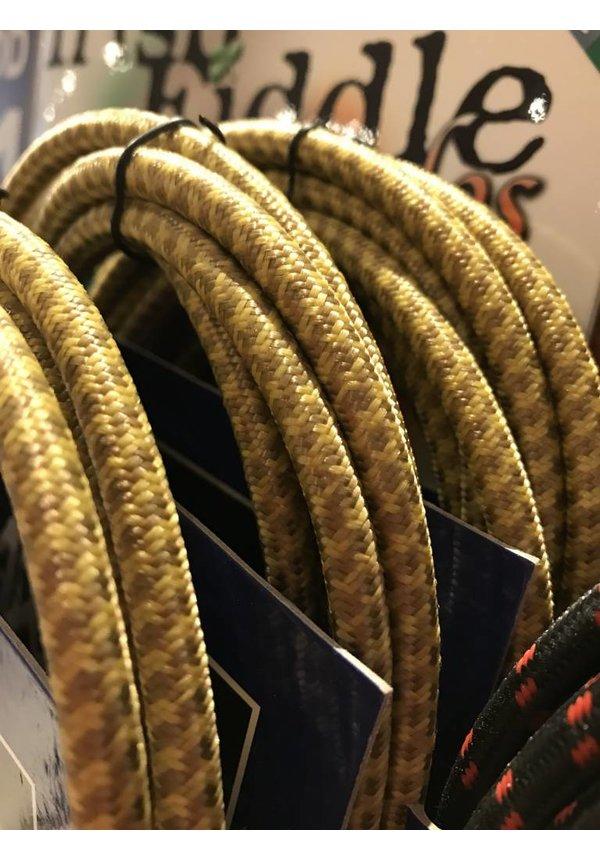 AXL 90 deg Inst Cable, Brn/Ylw Tweed 20