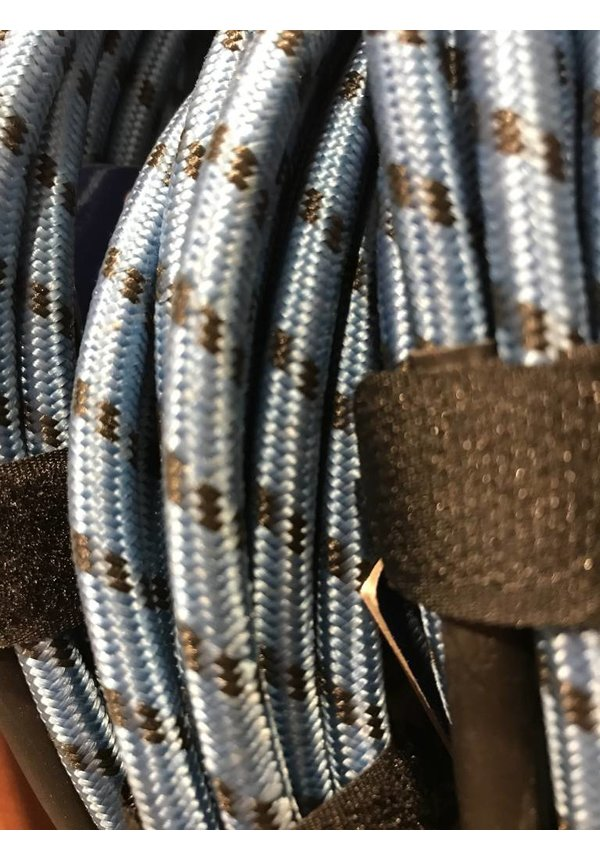 AXL Instr. Cable, Blue/Black Tweed-20