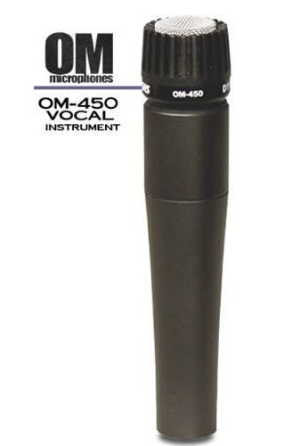 SHS Professional Model OM-450 Microphone Unidirecitonal