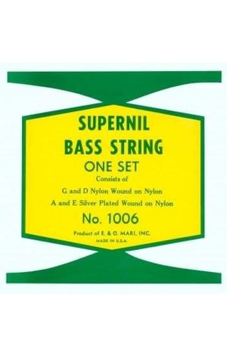 LaBella Supernil LaBella 3/4 BASS STG SET