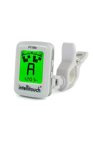 Intellitouch Clip-On Strobe Tuner w/clock
