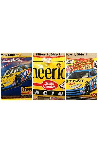 #42 John Andretti Petty2  Motorsports Stadium Cushion Cheerios/Betty Crocker