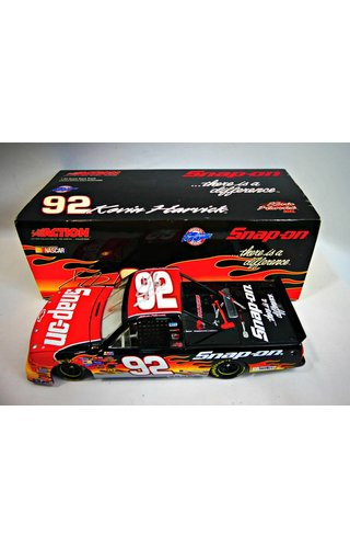 Kevin Harvick #92 Snap-on 2004 Chevy Silverado Race Truck  2004 Action / Lionel ARC 1:24 Supertruck Hand Signed