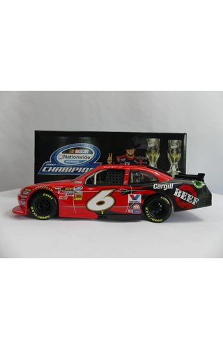 Ricky Stenhouse, Jr. #6 Cargill Beef 2X Champion 2012 Ford Mustang  2012 Action / Lionel ARC 1:24 CWC