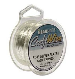 8 YD 22GA Non Tarnish Craft Wire : Silver