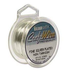 10 YD 24GA Non Tarnish Craft Wire : Silver