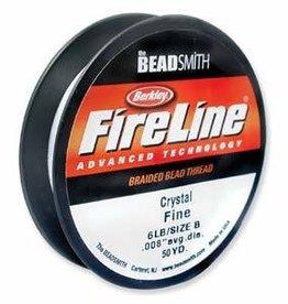 """50 YD 6 LB .006"""" Fireline : Crystal"""