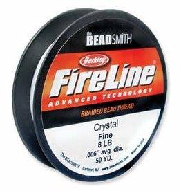 """50 YD 8 LB .007"""" Fireline : Crystal"""