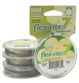 """30 FT .012"""" Flex-Rite 7 Strand : Clear"""