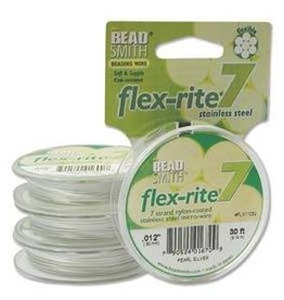 "30FT .012"" Flex-Rite 7 Strand : Pearl"