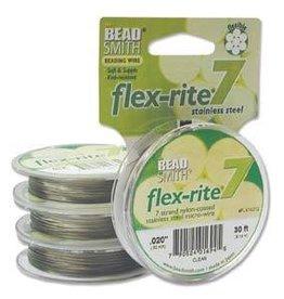 """30 FT .020"""" Flex-Rite 7 Strand : Clear"""