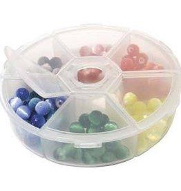 "Plastic Organizer Box 4.25""x .75"""