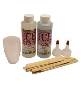 8 OZ Ice Resin Doming Kit (4 OZ Resin 4 0Z Hardener)