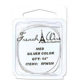 "14"" Silver French Wire : Medium"