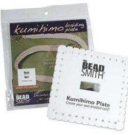"6"" Square Kumihimo Disc English instruction"