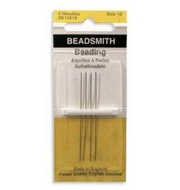 4 PC #10 Beading Needles