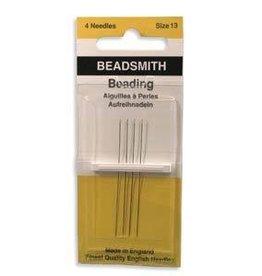 4 PC #13 Beading Needles