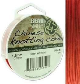 5 Meter 1.5mm Knotting Cord : Siam