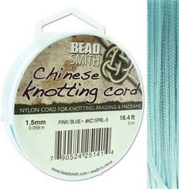 5 Meter 1.5mm Knotting Cord : Powder Blue