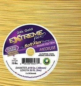 "30 FT .019"" Extreme Flex : 24KT Gold"