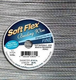 "30 FT .014"" Soft Flex : Satin Silver"