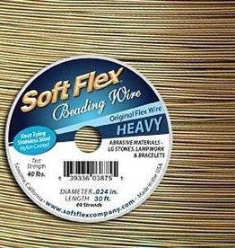 """30 FT .024"""" Soft Flex : Golden Bronze"""
