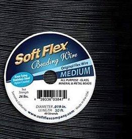 "30 FT .019"" Soft Flex : Black Onyx"