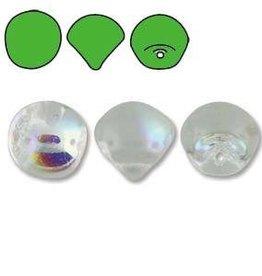 50 PC 6x5mm Mushroom Bead : Crystal AB