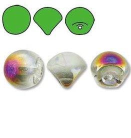 50 PC 6x5mm Mushroom : Crystal Sliperit