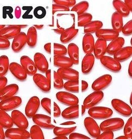 10 GM 2.5x6mm Rizo : Ruby (APX 150 PCS)