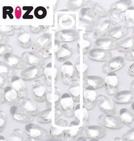 10 GM 2.5x6mm Rizo : Crystal (APX 150 PCS)