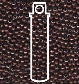 10 GM 11/0 Metal Seed Bead : Antique Copper