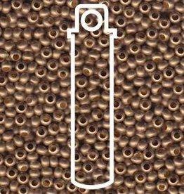 13 GM 11/0 Metal Seed Bead : Matte Gilding