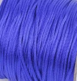 6 YD 2mm Rattail : Royal Blue