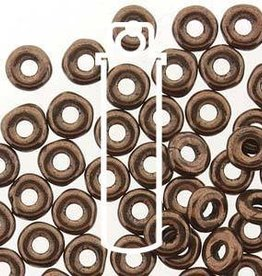 10 GM 3.8x1mm O Bead : Jet Bronze (APX 350 PCS)