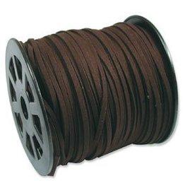 2 YD 3mm Ultra Micro Fiber Suede : Dark Brown
