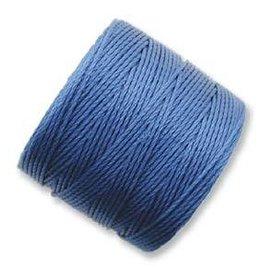 77 YD S-Lon Bead Cord : Blue