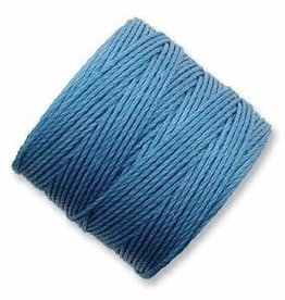 77 YD S-Lon Bead Cord : Carolina Blue