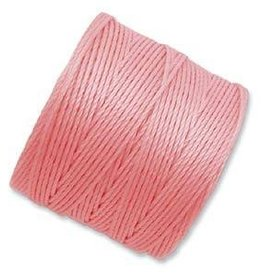 77 YD S-Lon Bead Cord : Light Pink