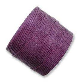 77 YD S-Lon Bead Cord : Plum