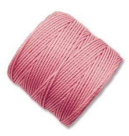 77 YD S-Lon Bead Cord : Pink