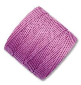 77 YD S-Lon Bead Cord : Light Orchid
