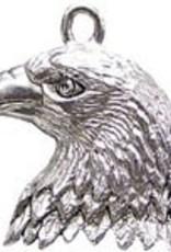 1 PC ASP 24x20mm Eagle Head Charm