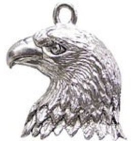 1 PC ASP 24x20mm Eagle Head Charm